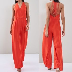 NWT Reiss Yeva strappy back jumpsuit